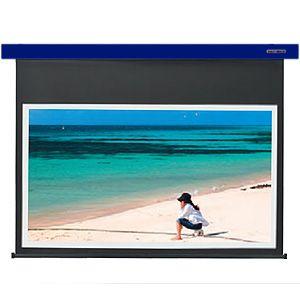 KIKUCHI 電動式スクリーン80型 4Kx2K対応【受注生産】 SES-80HDWAC_B
