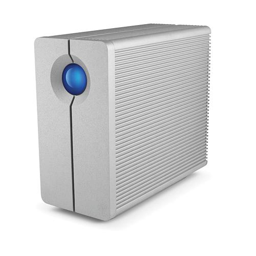 LACIE RAID機能搭載外付HDD 容量8TB USB3.0/2.0・FireWire800対応