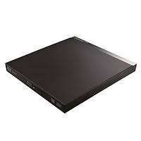LOGITEC USB3.0ポータブル9.5mmブルーレイドライブ編集再生書込ソフト付き LBD-PUC6U3VBK