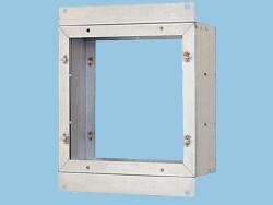 NATIONAL 産業用有圧換気扇部材 スライド取付枠(RC壁用) FY-KCX25