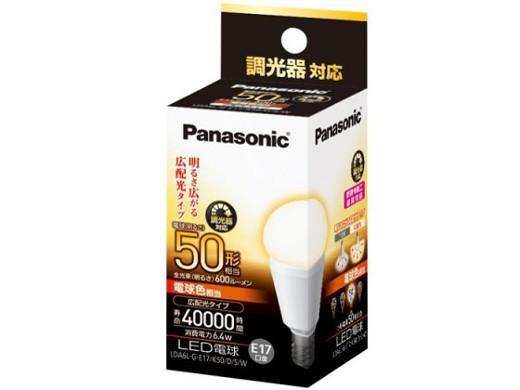 NATIONAL LED電球 6.4W (電球色相当) LDA6LGE17K50DSW