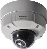 NATIONAL 屋外対応HDドームネットワークカメラ