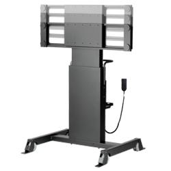 SDS シャープBIGPAD(60/70インチ)用電動昇降装置付スタンド[MH-6070 for BP3]