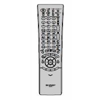 SHARP 液晶テレビ用 リモコン 106380119