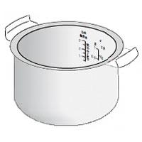SHARP KS-H55 KS-A56H他対応ジャー炊飯器 内ナベ(234 380 0270)