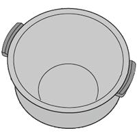 SHARP SHARP KS-GX10A用ウチナベK(内釜)[GX10A] 2343800314