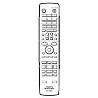 SHARP DVD用 リモコン 46380191