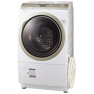 SHARP プラズマクラスター洗濯乾燥機(右開き) ES-Z210-NR