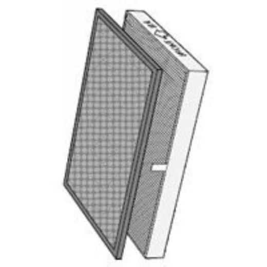 SHARP FU-90BCX用集じんフィルター・脱臭フィルター(各2個入)セット