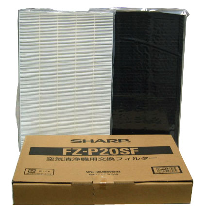 SHARP 集じんフィルター+脱臭フィルターセット