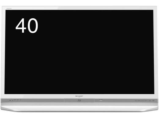 SHARP AQUOS LC-40DR9-W [40インチ ホワイト系] LC-40DR9-W