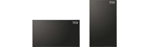 SHARP 70V型 4K高精細液晶ディスプレイ サイネージ