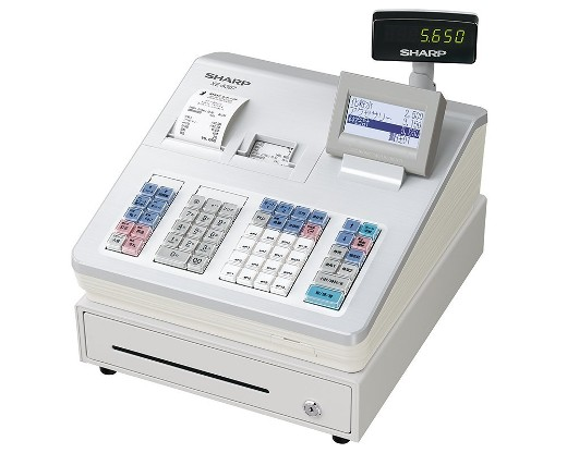 SHARP 電子レジスタ 16部門タイプ ホワイト系