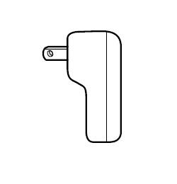 SONY 【部品】HDR-GWP88V/HDR-GW66V用ACアダプター AC-UD11