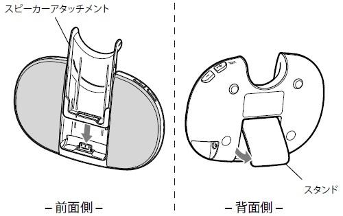 SONY 【部品】スピーカー:バイオレット用 RDP-NWT17 A-1833-262-A