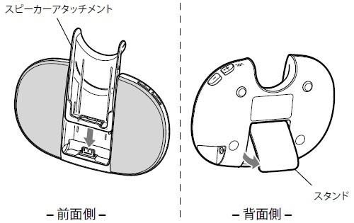 SONY 【部品】スピーカー:アンティークローズゴールド用 RDP-NWT17