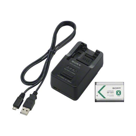 SONY バッテリーとUSB出力付きチャージャーセット