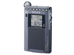 SONY ラジオNIKKEI放送の受信ができる、名刺サイズラジオ ICF-RN931