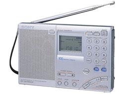 SONY ワールドバンドレシーバーラジオ ICF-SW7600GR