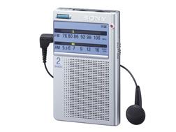 SONY 名刺サイズラジオ(アナログチューニング) ICF-T46