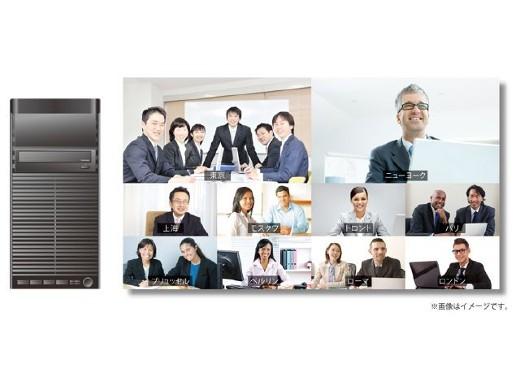 SONY 最大10拠点接続・画面10分割によるビデオ会議を実現する多地点接続用サーバー