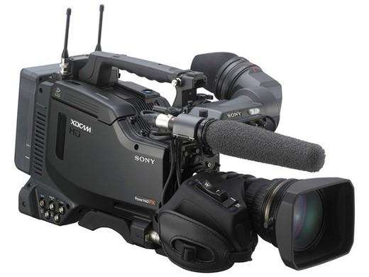 SONY XDCAM HD422カムコーダー ※写真のビューファインダー、マイク、ワイヤレスレシーバー、バッテリー、レンズは別売りです