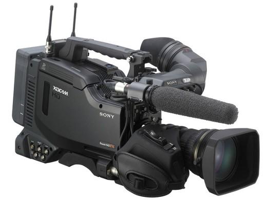SONY XDCAM HD422カムコーダー(※写真のビューファインダー、マイク、ワイヤレスレシーバー、バッテリー、レンズは別売り)