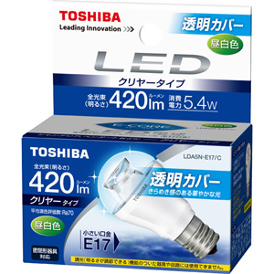 TOSHIBA �k�d�c�d�� �~�j�N���v�g���`5.7W �N�����[ LDA5N-E17_C