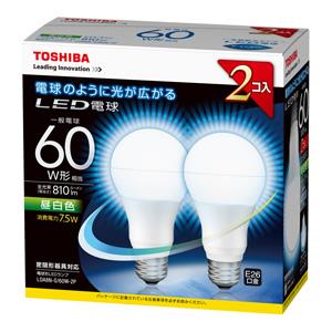 TOSHIBA LDA8N-G_60W-2P