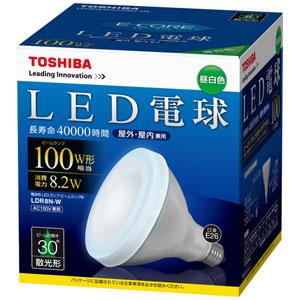 TOSHIBA LED�r�[�������v�` E26��� 8.2W LDR8N-W