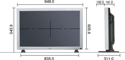 VICTOR 40V型LCDディスプレイ