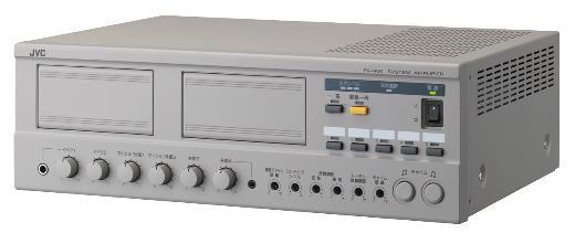 VICTOR 有線マイク入力×4ch他 9入力端子搭載アンプ(80W)
