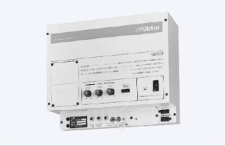 VICTOR 体育館・グラウンド等独立系統の放送設備向け ミニウォ−ルアンプ(120W)