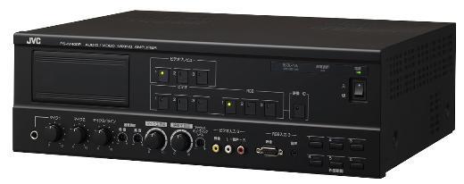 VICTOR AVミキシングアンプ ビデオ・PC・オーディオが1台で接続可能