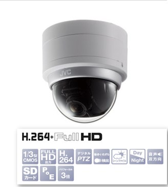 VICTOR VANCS HD ドーム型HDネットワークカメラ