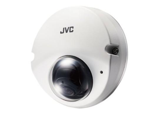 VICTOR 屋外壁面対応ミニドーム型HDネットワ-クカメラ