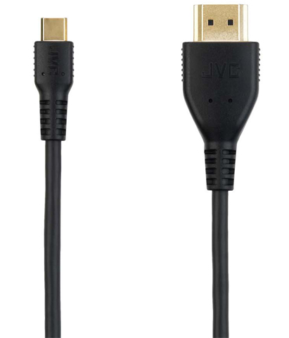 VICTOR MHLケーブル Hi-Fi 24金メッキ 3重シールド 1.5m